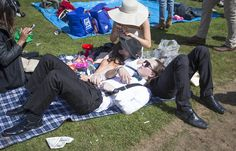 Two friends were seen taking the weight off their feet and resting on each other after the Melbourne Cup carnival partying caught up with them Melbourne Cup, Stakes Day, Finals, Carnival, Friends, Amigos, Final Exams, Boyfriends, Carnival Holiday