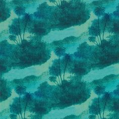 Matthew Williamson Cocos fabric - a tropical paradise on a piece of fabric