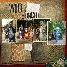 wild bunch - MouseScrappers - Disney Scrapbooking Gallery