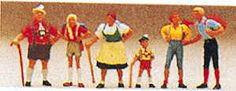 Preiser 10280 - Alpine family          6/