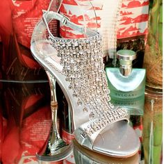 2013 Summer New Fashion sexy crystal high heel sandals for women open toe with  rhinestone, wedding shoes $36.00
