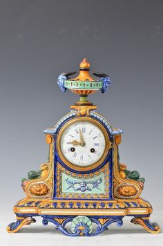 Antique Tiffany and Co. Wall Clock Brands, Wall Clock Online, Antique Clocks, Vintage Clocks, Classic Clocks, Father Time, Mantel Clocks, Cool Clocks, Wall Clock Design