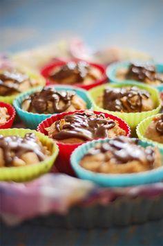 muffiny z masłem orzechowym