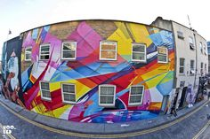 Stunning new mural by MadC in London. Photo©Mark Rigney for Hookedblog, via Flickr