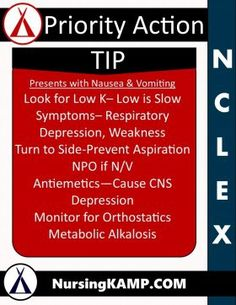 Nursing KAMP - The Nurses Notes on Nursing » NCLEX KAMP NCLEX Tip Priority NCLEX…