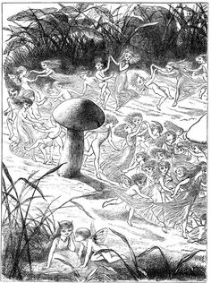 """""""""""Princess Nobody"""". A tale of fairy land by Andrew Lang, illustrated by Richard Doyle, c. Most Popular Artists, Great Artists, Fairy Land, Fairy Tales, Richard Doyle, Nature Paintings, Large Art, Pagan, Les Oeuvres"""