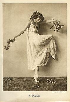 Anna Pavlova, Bacchanal by Gatochy, via Flickr