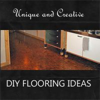Cheap flooring ideas on pinterest painting laminate for Diy flooring ideas on a budget