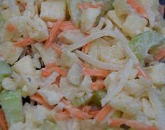Koken met gerrit (van WECKENonline): Appel- wortelsalade voor bij de BBQ