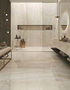 Marble Interior Trends for Luxurious Home Interior Purpose Marble Interior, Home Interior, Luxury Interior, Bathroom Design Luxury, Modern Bathroom Design, Luxury Hotel Bathroom, Modern Master Bathroom, Minimalist Bathroom, Modern Minimalist