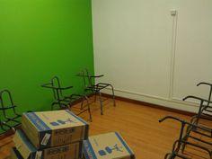 Futuras cadeiras da Sala Botafogo