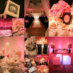 Find the best wedding venues for you! Get wedding planning checklists, questions to ask your venue and vendors, plus other wedding ideas. Sweet 15 Decorations, Paris Party Decorations, Holiday Party Themes, Pink Wedding Decorations, Pink Wedding Colors, Birthday Party Decorations, Wedding Centerpieces, Party Ideas, Theme Ideas