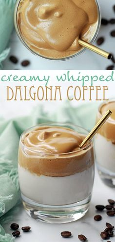 Dalgona Coffee - creamy whipped Dalgona coffee. Best served with whipped vodka and Baileys Irish cream!