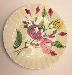 Blue Ridge Southern Potteries Inc. Floral Plate....