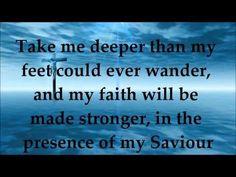 ▶ Oceans (Where Feet May Fail) - Hillsong United - Lyrics - Zion 2013 - YouTube
