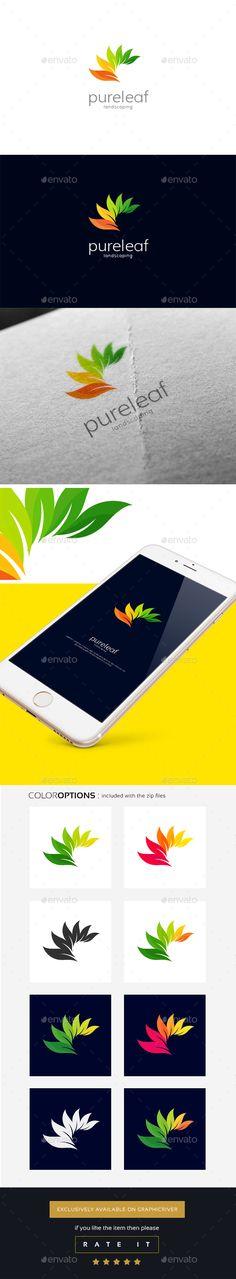 Leaf logo - Nature Logo Templates Download here : https://graphicriver.net/item/leaf-logo/18105946?s_rank=75&ref=Al-fatih