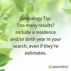 Sometimes it pays off to estimate.  #genealogy #familyhistory #family #ancestors #heritage #roots #familytree #ancestry #USHistory #History