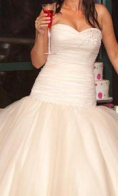 Felt like a princess in my dream dress! Allure Bridals 8914