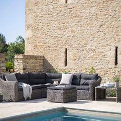 Garden Trading Lodsworth Outdoor Corner Sofa Set - Rattan