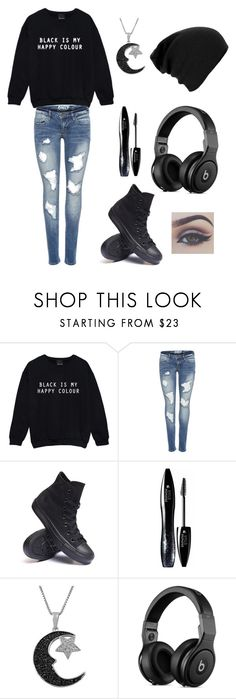 """""""Untitled #1"""" by sofia-fuentes-i ❤ liked on Polyvore featuring Converse, Lancôme and Jewel Exclusive"""