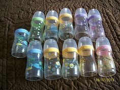 PLAYTEX BOTTLES Voss Bottle, Water Bottle, Pacifiers, Reborn Baby Dolls, Baby Bottles, Cool Baby Stuff, Baby Gear, Future Baby, Baby Things
