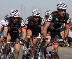 Team Cervelo. Catlike helmets
