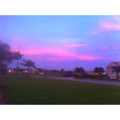 #Barbados #sunset from Millennium Heights development.