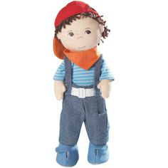 Haba Graham Doll. found on Oompa.com  #oompatoys   #habausa  I love this little Guy! A best friend for your little Guy or Guy.