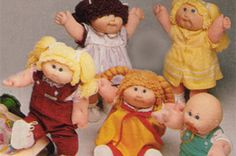 Cabbage Patch Kid dolls…still as creepy as ever. | Here's What 23 Of Your Childhood Toys Look Like Now
