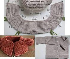 Crochet Zig Zag - Cómo hacer y unir MOTIVOS redondos al crochet/häkeln/ganchillo/uncinetto Baby Knitting Patterns, Knitting For Kids, Crochet For Kids, Baby Patterns, Free Knitting, Knitting Projects, Crochet Patterns, Knitting Tutorials, Cardigan Bebe