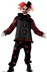 Evil Scary Clowns   Scary Clown Costumes - Props - Masks   Nightmare Factory