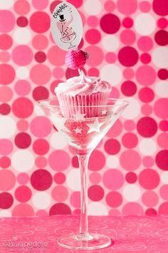 Bachelorette Party Cosmopolicakes!