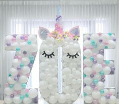 Balloons unicorn