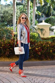 Fashion | Red Dazzle | The MIAMI Rose #OOTD
