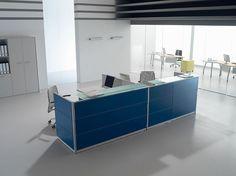 Reception collezione Marte di #Walco #Office composizione n.80 #ufficio