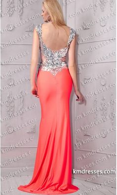 fabulous boat neck beaded floor length side slit gown.prom dresses,formal dresses,ball gown,homecoming dresses,party dress,evening dresses,sequin dresses,cocktail dresses,graduation dresses,formal gowns,prom gown,evening gown.