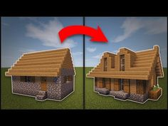 how to build a blacksmith shop in minecraft pe