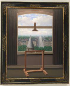 """Les promenades d'Euclide - Exposition """"Magritte, la trahison des images"""" au Centre National d'Art et de Culture Georges Pompidou."""
