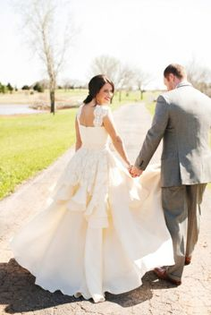 Beautiful! -Oklahoma style wedding