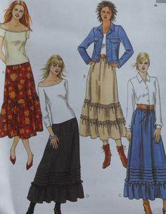 Prairie Skirt Sewing Pattern