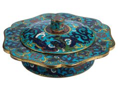 Chinese Cloisonne Zhadou, late Ming Dynasty.