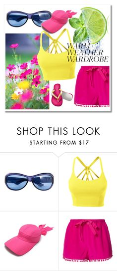 """""""Heat Wave"""" by signa2000 ❤ liked on Polyvore featuring Yves Saint Laurent, LE3NO, Figue and heatwave"""