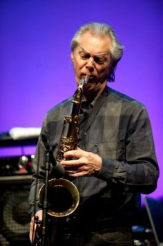 Norwegian saxophone legend Jan Garbarek