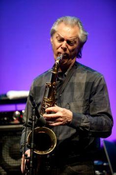 Norwegian saxophone legend Jan Garbarek