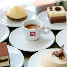 illy coffee and...
