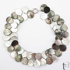 Collar De Piedras Preciosas Jade semi preciosas y PLATO de abalorio Adornos Conjunto de Regalo