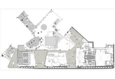 Centro Cultural Gabriela Mistral,Planta 1º Piso Cultural Center, Floor Plans, Culture, Flooring, How To Plan, House, Arch, Christians, Architects