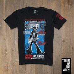 "Stampa ""Frontera Tour"" per la #TshirtOfTheWeek di oggi! Acquistala subito >> http://www.scorpionbay.com/it/store/junior/t_shirt-e-camicie/t_shirt-89943?utm_source=Social"