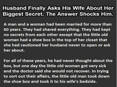 Man Asks His Wife About Her Biggest Secret. This Is Priceless.