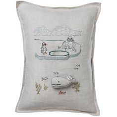 Glacier Pocket Pillow 12x16 by Coral & Tusk | Fab.com